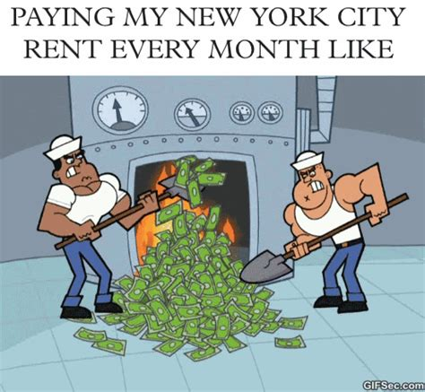 Paying Your Way Into The And The City by New York City Money Gif Find On Giphy