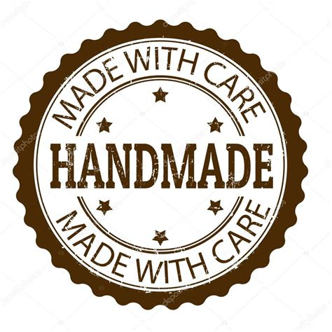 What Does Handcrafted - handmade stempel stockvektor 169 roxanabalint 29220771