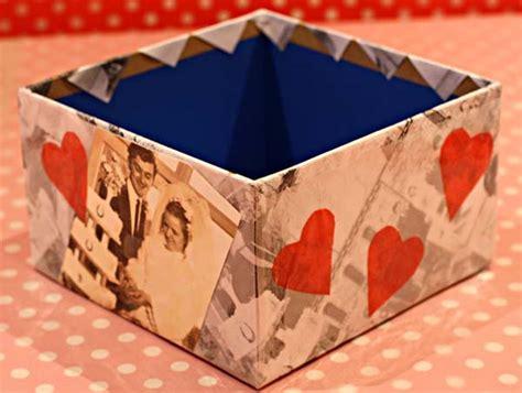 tecnicas para decorar cajas de carton c 243 mo hacer cajas decoradas para regalos en casa