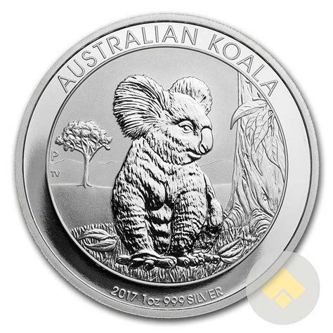 1 Oz Silver Koala Coin - 2017 1 oz australian silver koala
