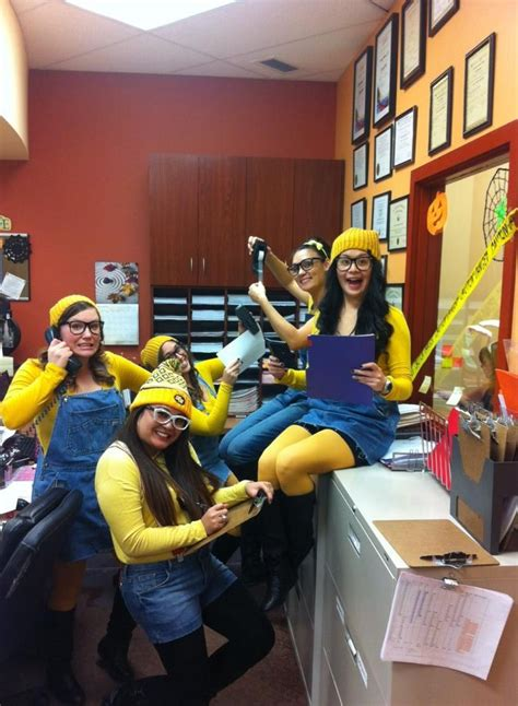 minion costume  halloween costume   office