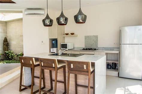 Balinese Kitchen Design Villa Seminyak Bali Indonesia