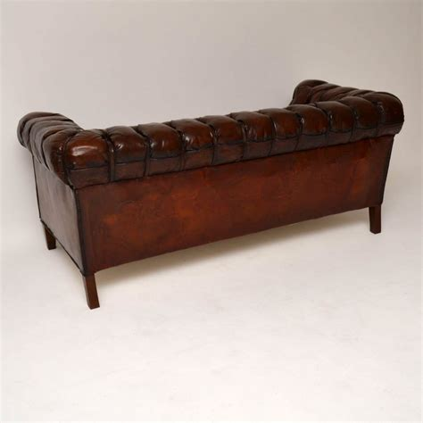 chesterfield sofa antique antique swedish leather chesterfield sofa interior