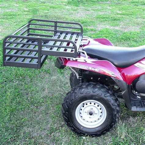 mighty lite atv rear rack drop basket from great day