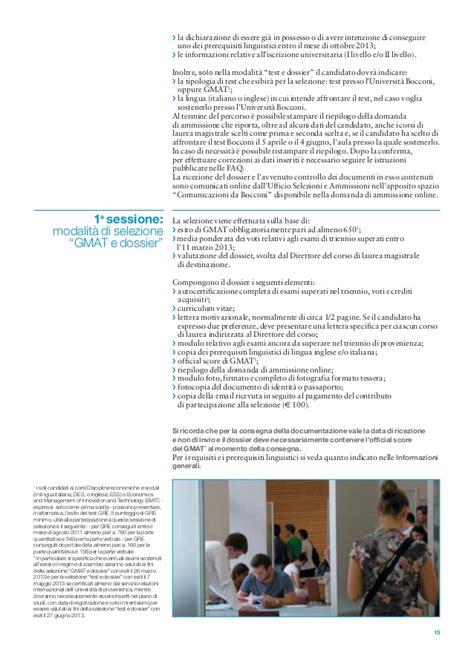 bocconi test magistrale ammissioni bienni12 ita a4 low