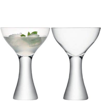 bicchieri cari lsa elina bicchiere da cocktail trasparente coppia ebay