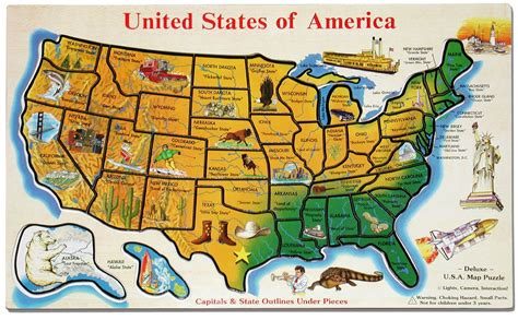 tourist map of united states of america images of roadside attractions cross the usa walk across