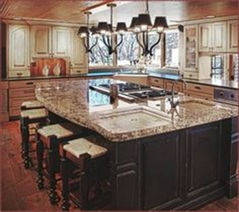 kitchen island with cooktop and seating the world s catalog of ideas
