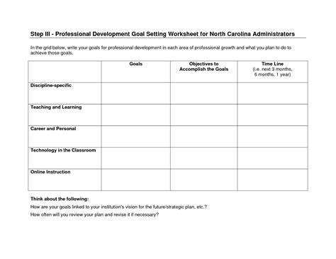 goal planning worksheet 18 best images of goal planning worksheet for