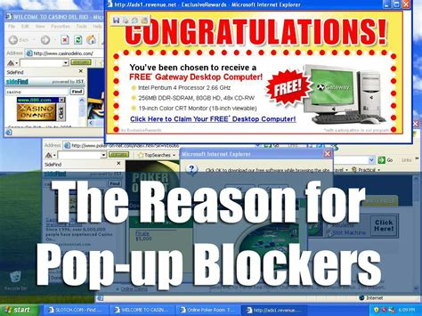 pop up pop up windows and why you should not use them