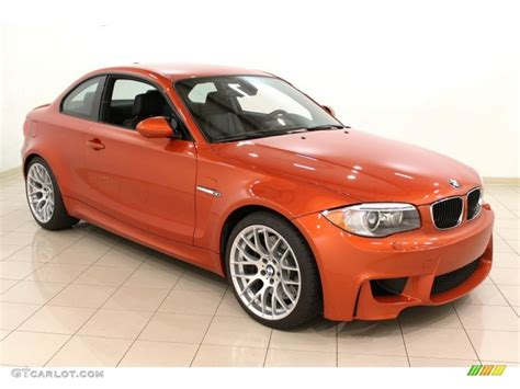 Bmw Orange by 2011 Valencia Orange Metallic Bmw 1 Series M Coupe