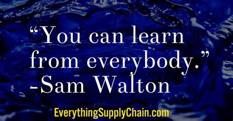 Walmart Mba Supply Chain Intern by Supply Chain Blogs On Topics Such As Walmart Toyota Mbas