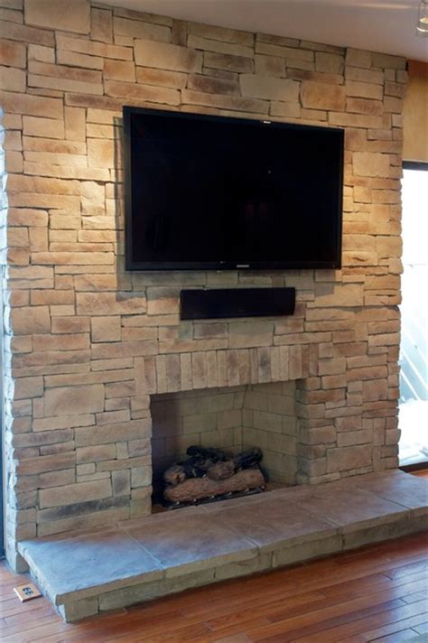ledge stone fireplace album 3 traditional family room chicago by north star stone