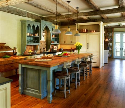country kitchen islands a new house inspired by country cottages