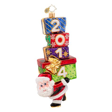 christopher radko ornaments 2014 radko santa ornament