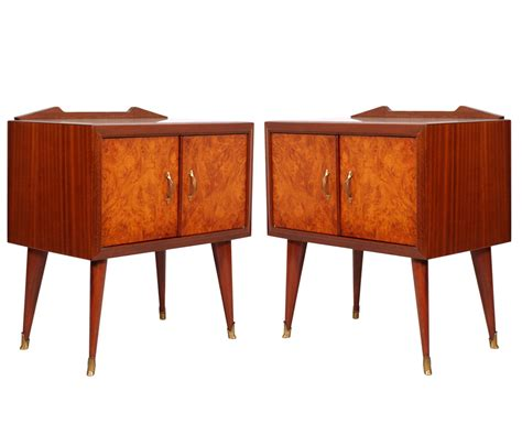mid century modern bedside table mid century modern bedside tables design paolo buffa