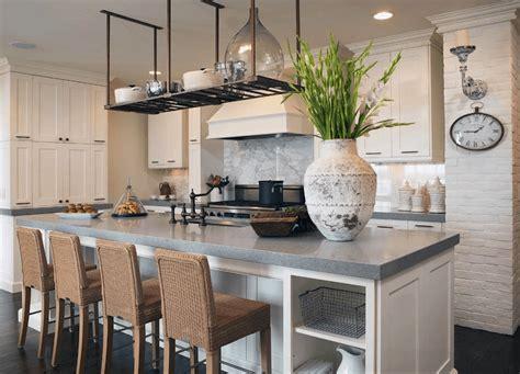 cuisine am駻icaine avec ilot central cuisine ilot central table simple beautiful ilot central