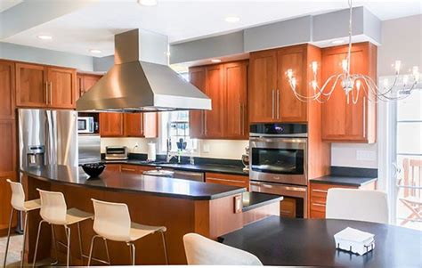 stainless steel kitchen island with seating cabinets beds sofas and morecabinets beds natural cherry wood kitchen stainless steel appliances