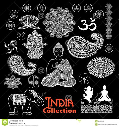 chalkboard paint india india design elements chalkboard set stock vector image