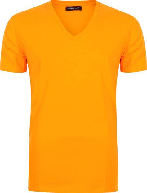 Tshirt Orange selected drill t shirt n 233 on orange