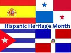 hispanic colors national hispanic heritage month september 15 to october