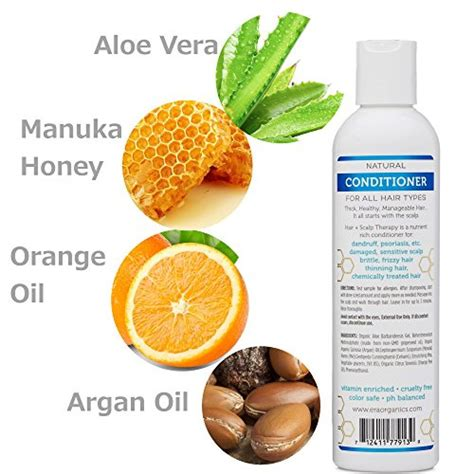 best hair shoo for curly hair dry scalp buy era organics argan oil conditioner for dry itchy