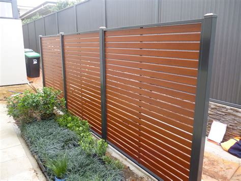 privacy screen for fence privacy screens adelaide balustrade fencing