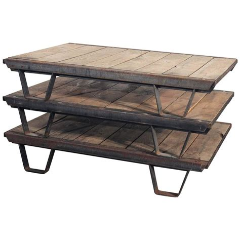 wood s l for sale 1930s industrial wooden pallets iron rustic frame for sale