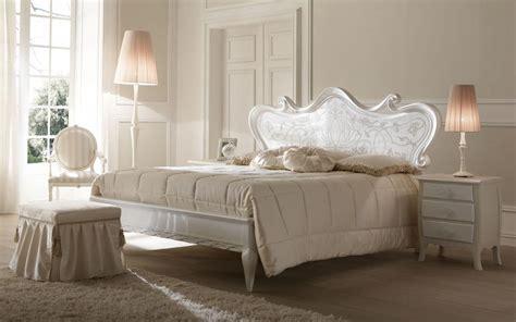 letti in stile letto verniciato madreperla decorato a mano per camere