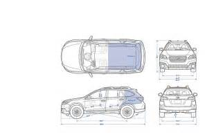 Subaru Outback Width 2016 Subaru Outback Specifications 2016 Subaru Outback