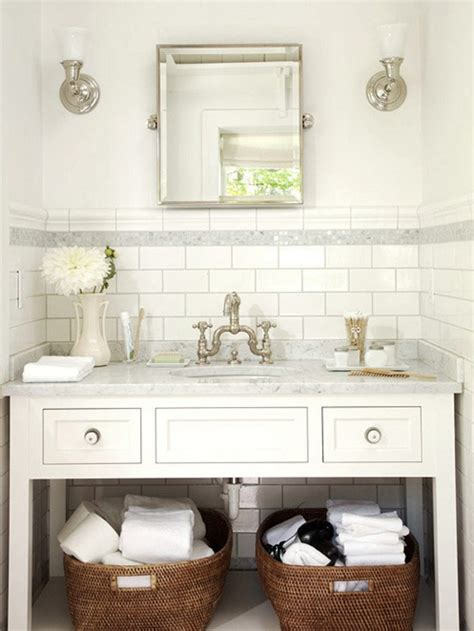 Bathroom Vanity Tile Ideas tile bathroom ideas white bathroom subway tiles powder rooms