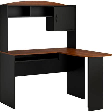 desk with hutch walmart mainstays l shaped desk with hutch colors