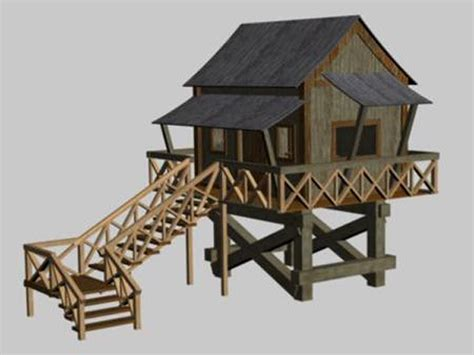 home design studio 3d objects the cottage dwelling cottage style house 3ds 3d studio