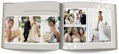 my publisher templates create your own wedding photo book with diy software