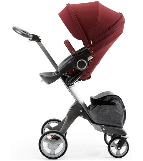Hair Style Kit Ride by Stokke Stroller Seat Style Kit Burgundy