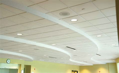 Acoustic Ceiling by West General Acoustics Contour Acoustical Ceiling Panels