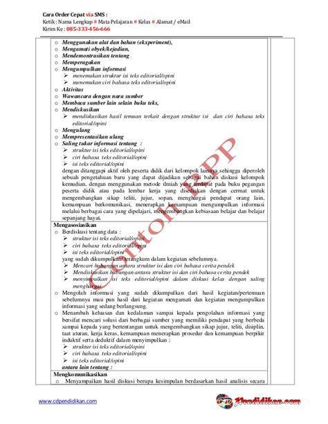 membuat teks opini editorial rpp bahasa indonesia wajib kurikulum 2013 kelas xii semester 2