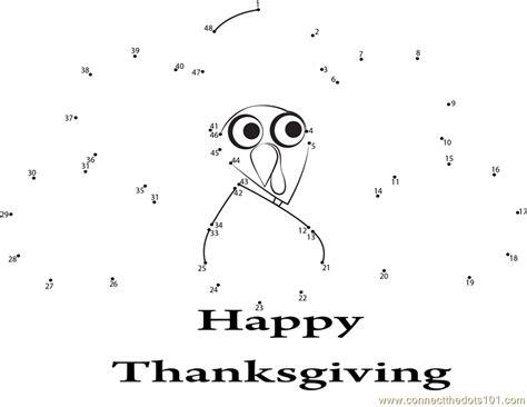 printable dot to dot thanksgiving enjoying thanksgiving day dot to dot printable worksheet