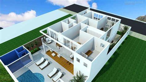 planta 3d plantas de casas e projetos de casas barbara borges projetos