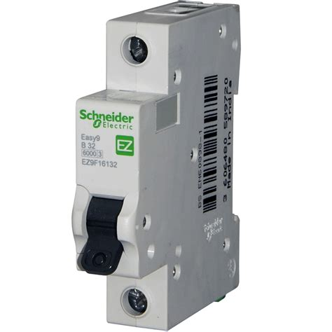 schneider easy 9 32 mcb replaces the domae dom32b6