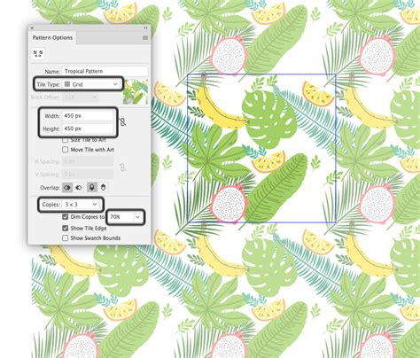 illustrator pattern has gaps how to create a tropical pattern in adobe illustrator