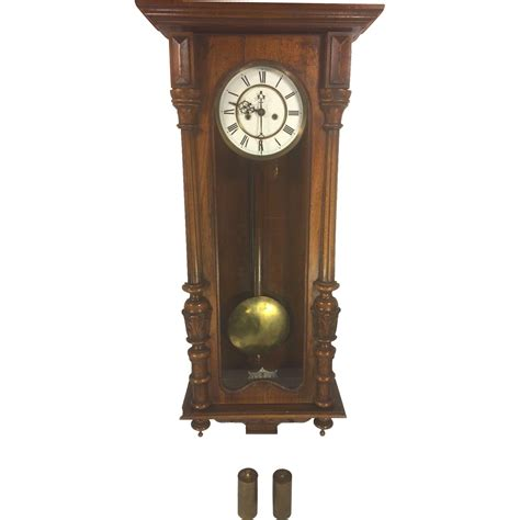 gustav becker antique gustav becker vienna wall regulator clock running
