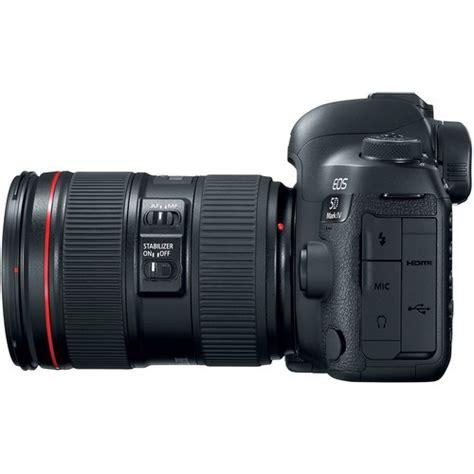 Canon Eos 5d Iv Kit Ef 24 105 F 4l Is Ii Usm Wg canon eos 5d iv dslr with ef 24 105mm f 4l ii lens kit