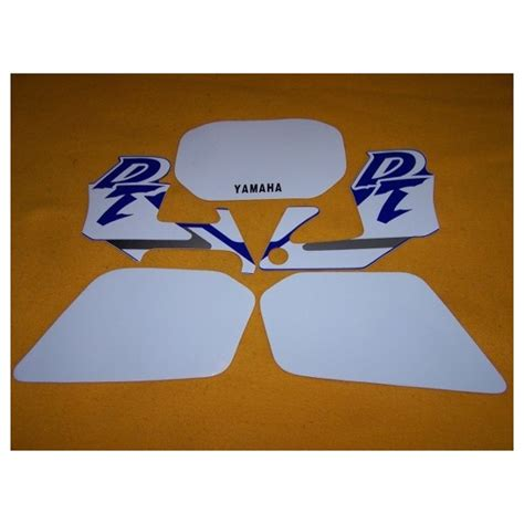 Stickers Yamaha Dtr 125 by Stickers Decals For Yamaha Dt125r