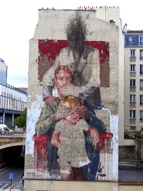 les trois ages  borondo paris france  vandallist