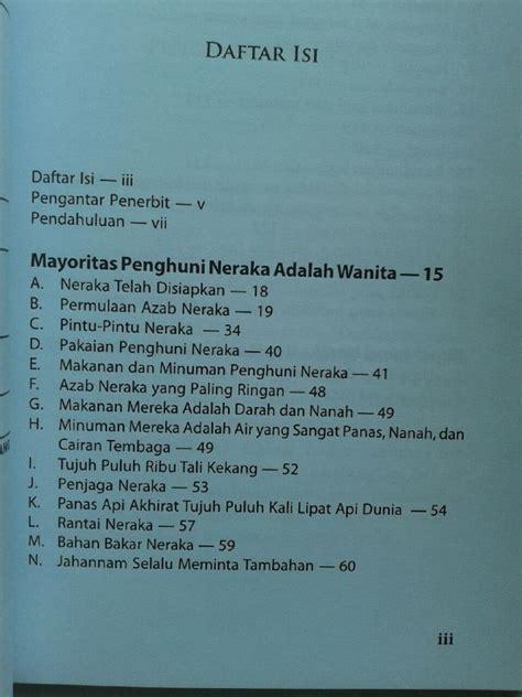 40 Keajaiban Naik Haji buku wanita di ambang neraka