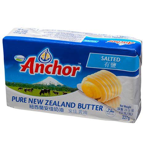 Anchor Unsalted Butter 227g anchor salted butter 227g tops