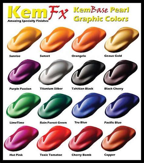 pearl car paint basecoat clearcoat car paint kit 16 colors to choose from dollface