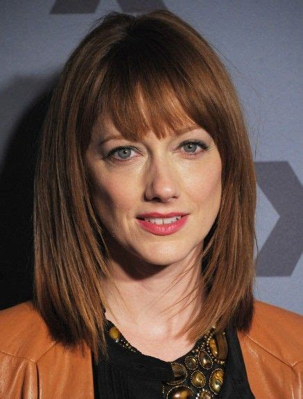 gradually lsyered medium bob blunt cut long layered bob hairstyles with blunt bangs blunt bangs