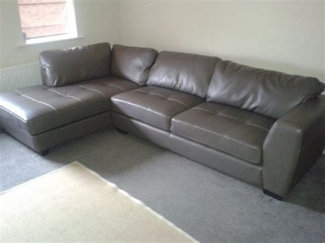 Large Leather Sofa Sale Large Leather L Shaped Sofa For Sale In Allenwood Kildare From Brendan Boyle 39